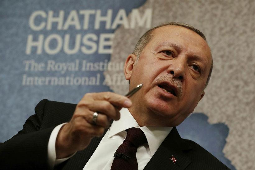 Recep Tayyip Erdogan, forseti Ísraels.