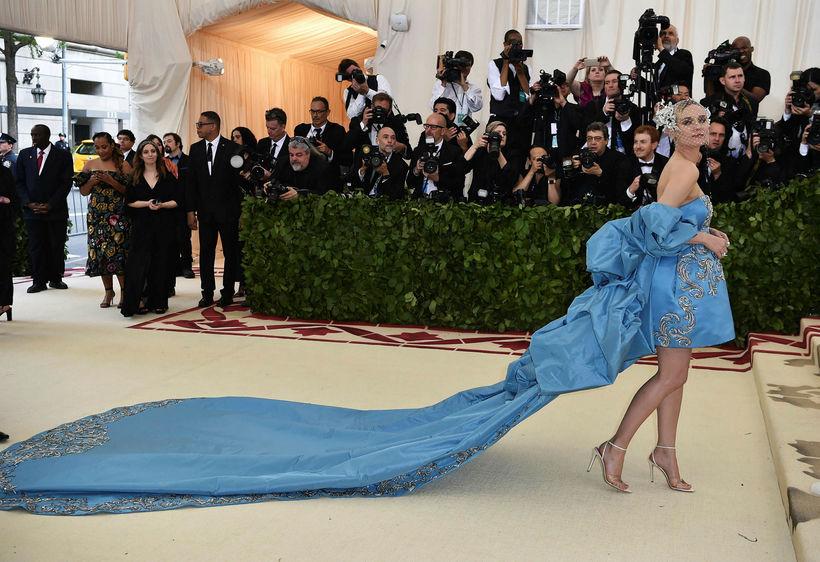 Diane Kruger á Met Gala.