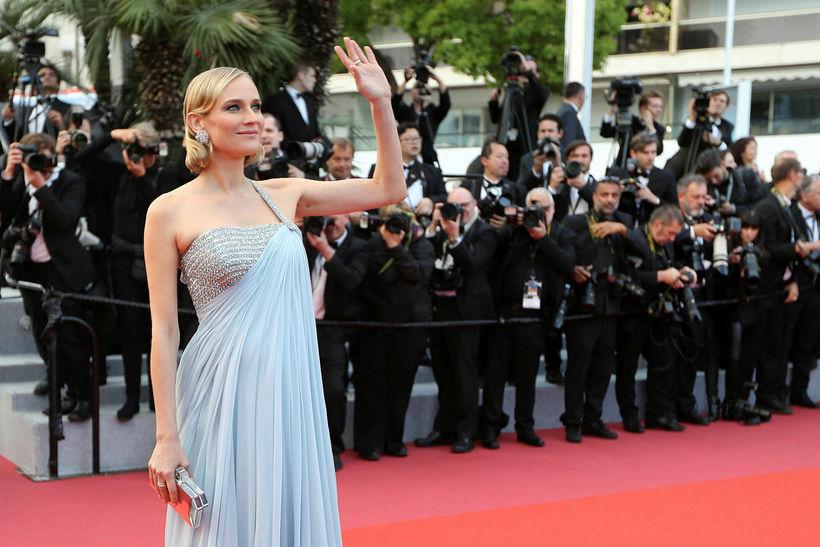 Diane Kruger á Cannes 13. maí.