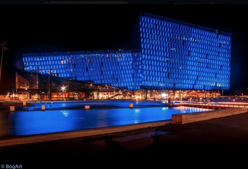 Harpa Concert Hall and Conference Centre has come under fire ...