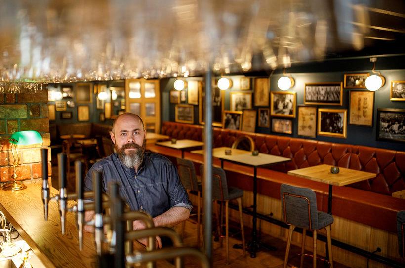 Guðmundur Finnbogason, einn eigenda Bastard Brew & Food.