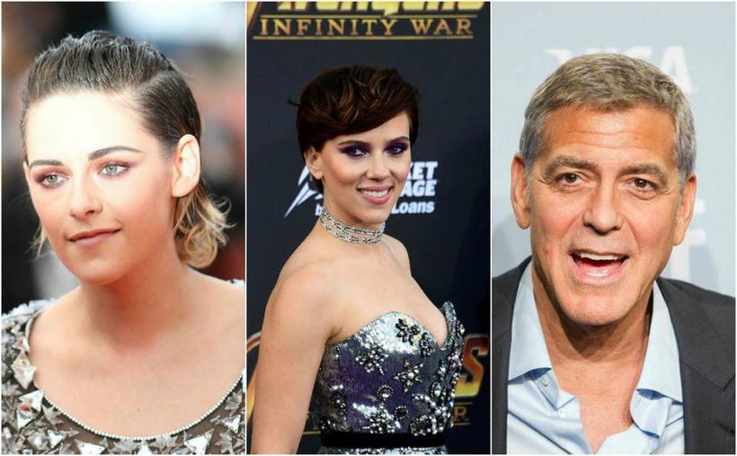 Kristen Stewart, Scarlett Johansson og George Clooney eru ekki hrifin ...