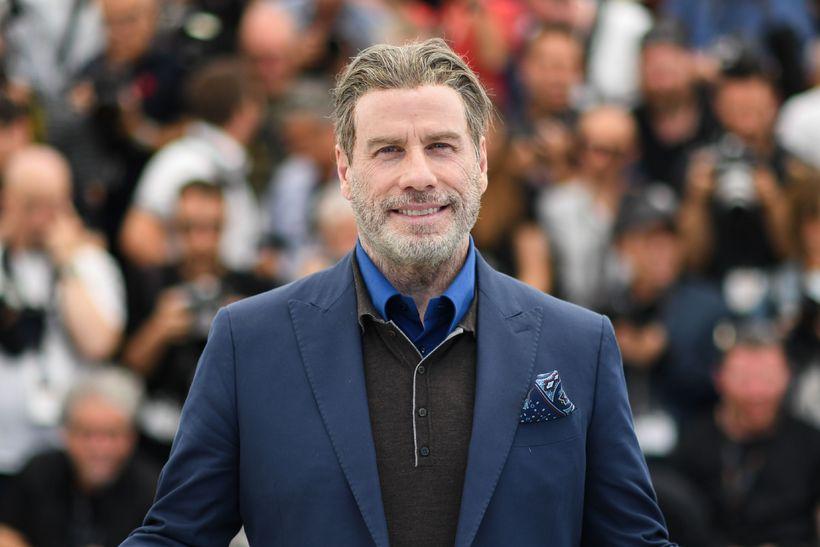 John Travolta upp á sitt besta? Greinilega í Cannes.