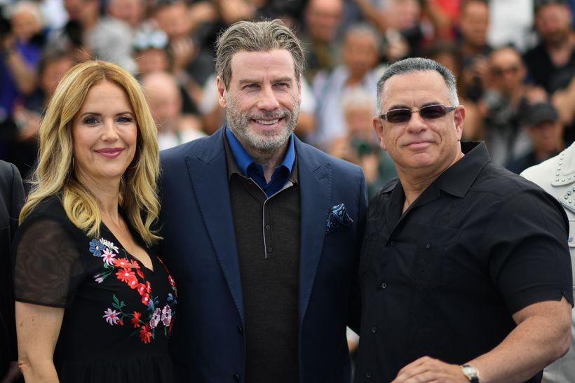 Kelly Preston, John Travolta og sonur Gotti, John A Gotti ...