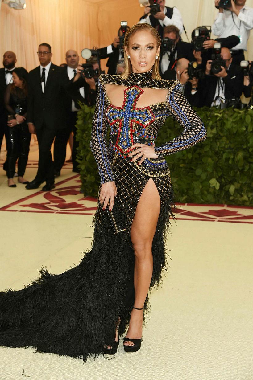 Jennifer Lopez er ánægð með línurnar.