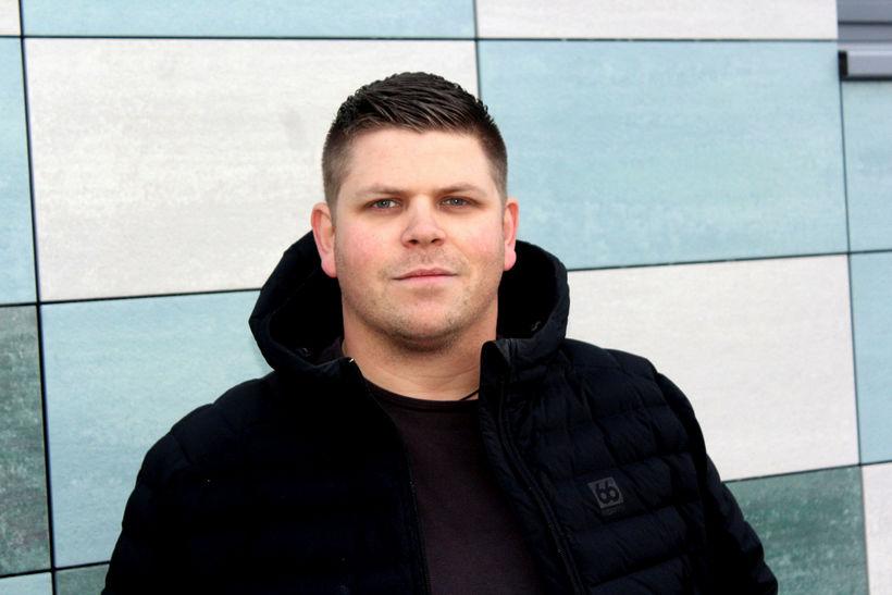 Sveinn Ásgeirsson, varaformaður Tólfunnar