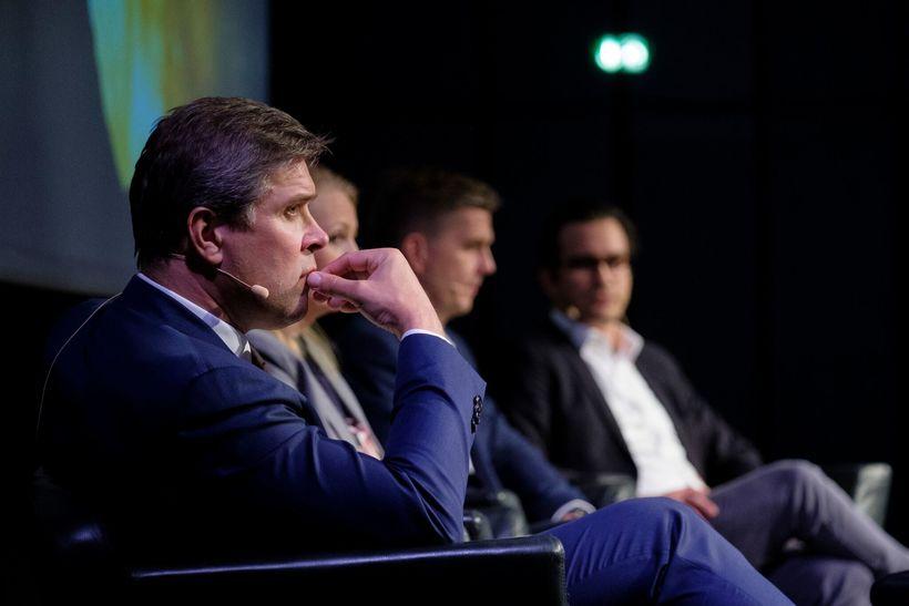 Bjarni Benediktsson á ráðstefnunni.