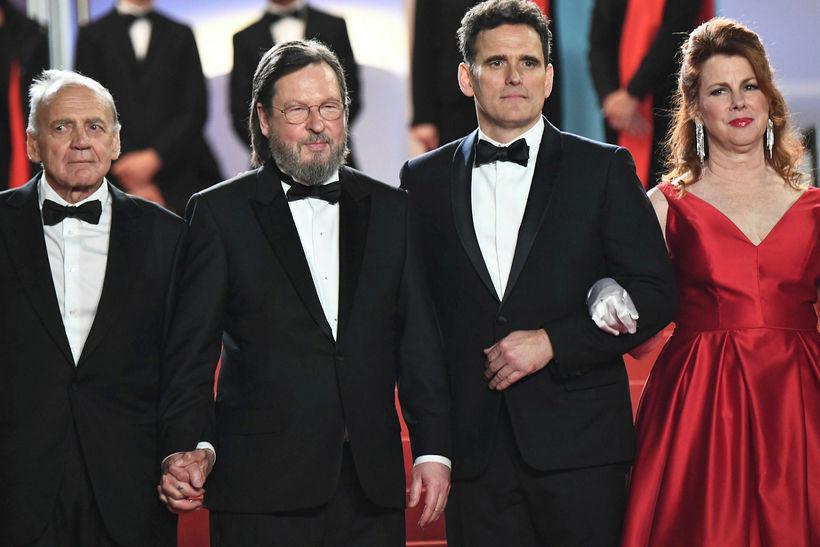 Leikarinn Bruno Ganz, leikstjórinn Lars von Trier, leikarinn Matt Dillon ...