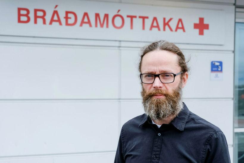 Hjalti Már Björnsson er bráðalæknir á Landspítalanum en þangað er …