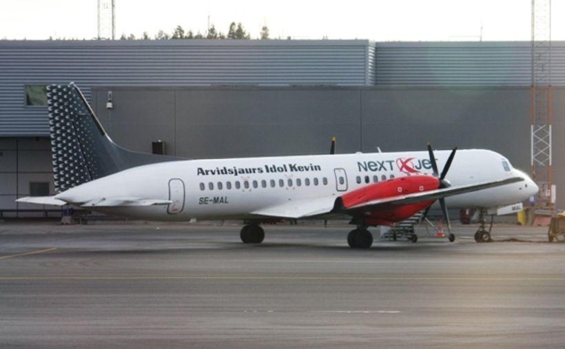 Sænska flugfélagið Nextjet er gjaldþrota.