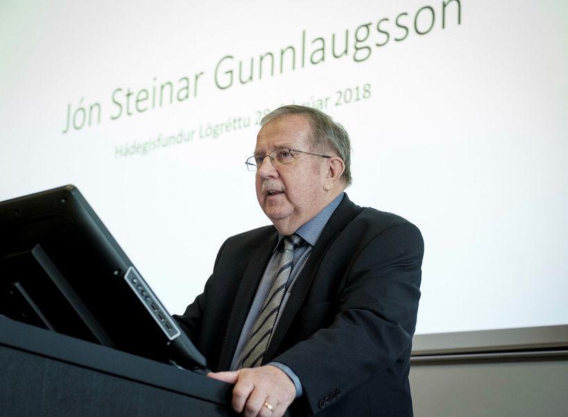 Lögmannafélag Íslands áminnti Jón Steinar vegna tölvupóstsendinga til dómstjóra.