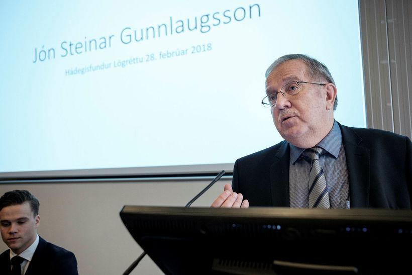 Jón Steinar Gunnlaugsson segist ekki njóta réttaröryggis við íslenska dómstóla ...