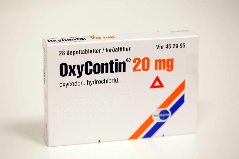 OxyContin er sterkt ópíóíðalyf.