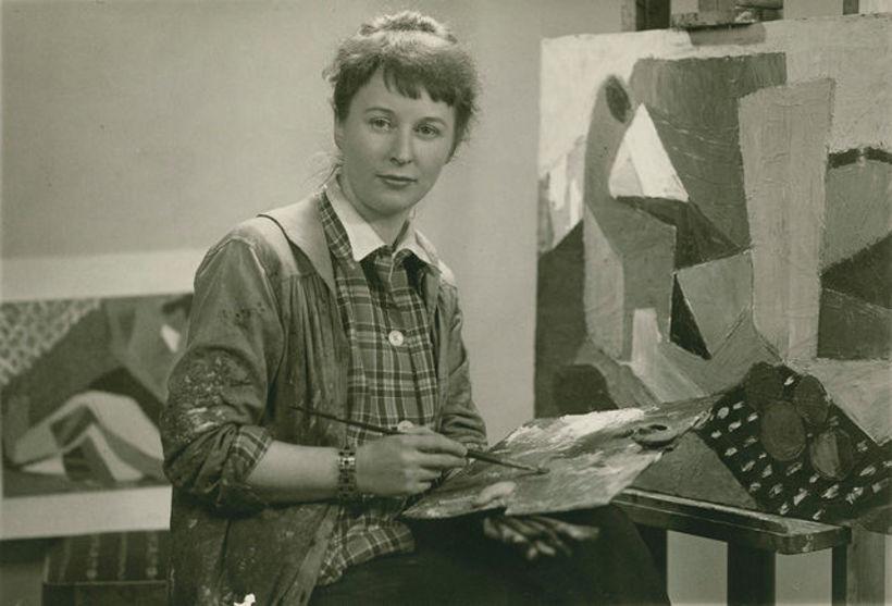Artist Nína Tryggvadóttir, 1913 – 1968 is one of Iceland's ...