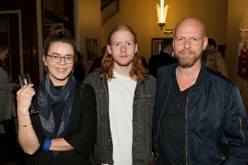 Margrét Örnólfsdóttir, Bjartur Elí Ragnarsson og Ragnar Bragason.