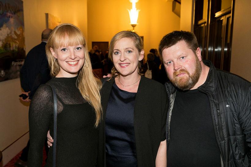 Melkorka Ólafsdóttir, Hrönn Þráinsdóttir og Helgi Jónsson.