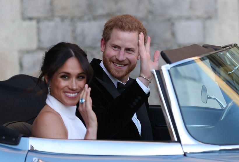 Meghan og Harry eru flutt til Windsor.