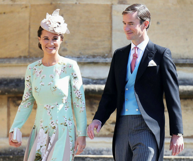 Pippa Matthews og einmaður hennar,James Matthews.