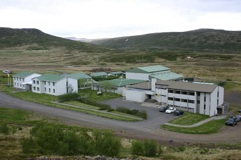 Skólaþorpið í Dalabyggð. Tilboðsgjafinn náði ekki að fjármagna kaupin.