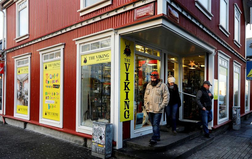 The Viking við Hafnarstræti í Reykjavík.