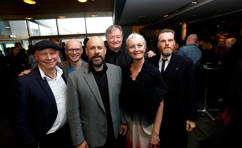 Ólafur Egilsson, Davíð Alexander Corno, Benedikt Erlingsson, Jóhann Sigurðsson, Halldóra ...