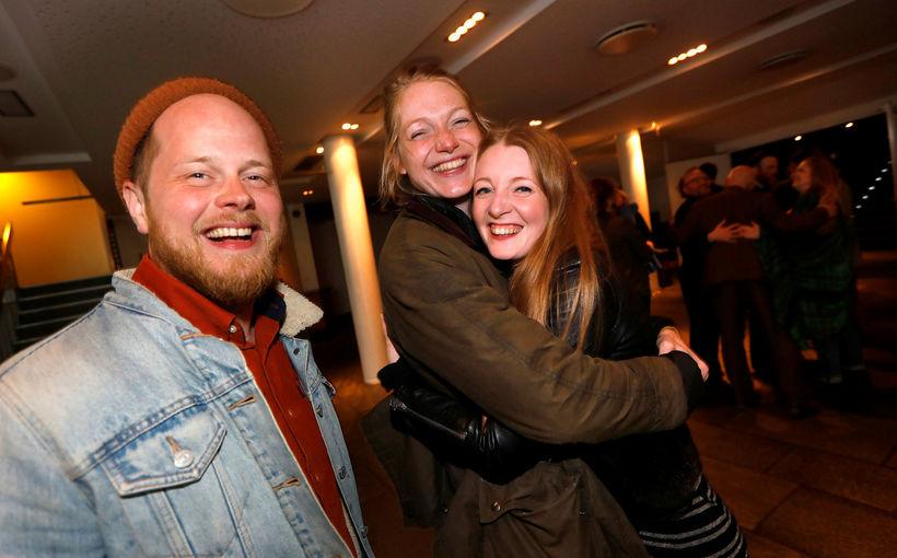 Snorri Helgason, Saga Garðarsdóttir og Steiney Skúladóttir.