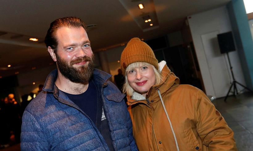 Jóhannes Haukur Jóhannesson og Rósa Björk Sveinsdóttir.