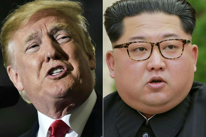 Donald Trump mun ekki funda með Kim Jong-un.