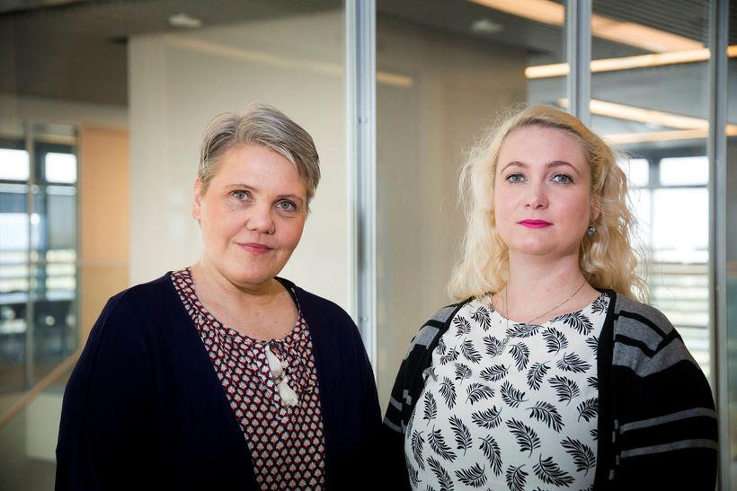 Sigrún Sigurðardóttir og Arndís Vilhjálmsdóttir eru báðar með erindi á …