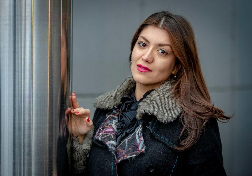 Nazanin Askari er femínisti og hefur setið í fangelsi fyrir ...
