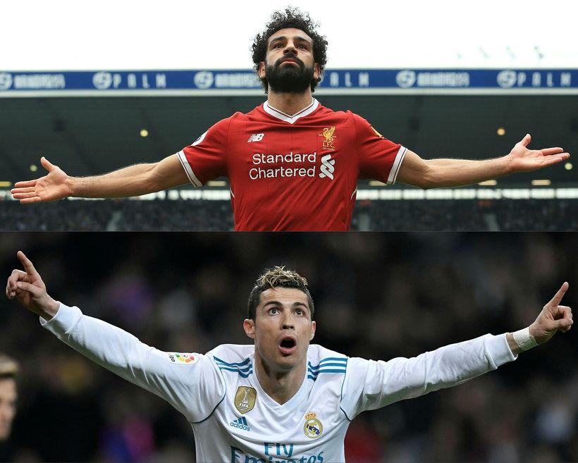 Mohamed Salah og Cristiano Ronaldo verða eflaust í stórum hlutverkum ...