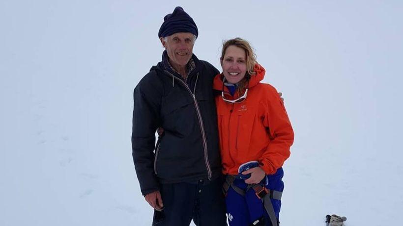 Luigi Rampini og Marnie reyndu við Everest 2005 og hittust ...