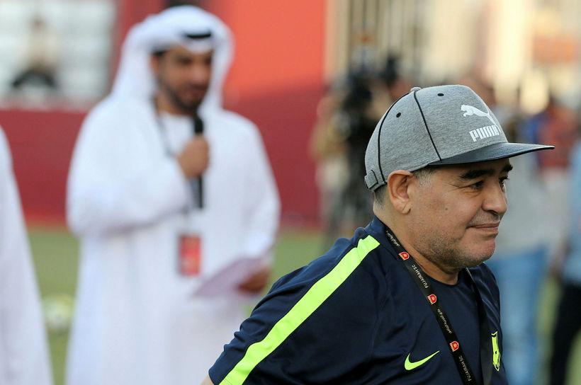 Diego Maradona er skrautlegur.
