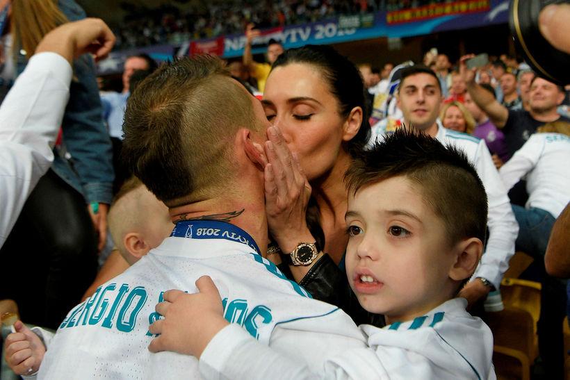 Sergio Ramos er væntanlega ekki vinsæll í bítlaborginni Liverpool í …
