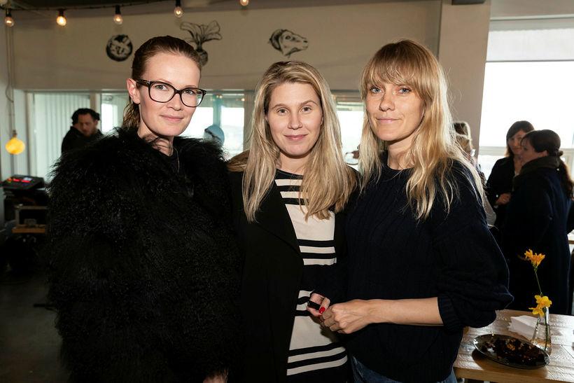 Erla Lilja Kristjánsdóttir, Fanney Birna Jónsdóttir og Katrín Alda Rafnsdóttir.