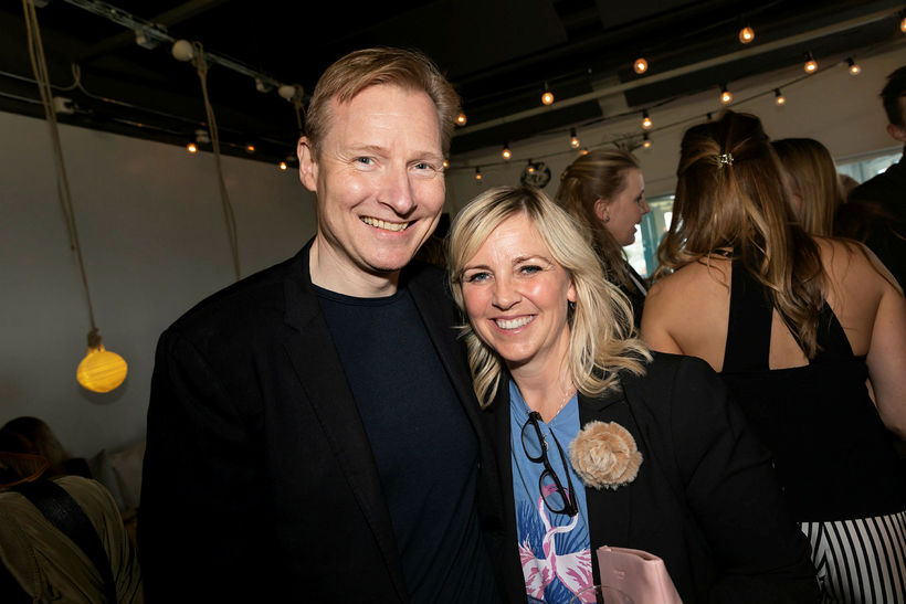 Bjarni Ármannsson og Helga Sverrisdóttir.