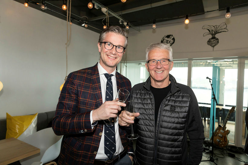 Jónas Guðmundsson og Guðmundur Einarsson.
