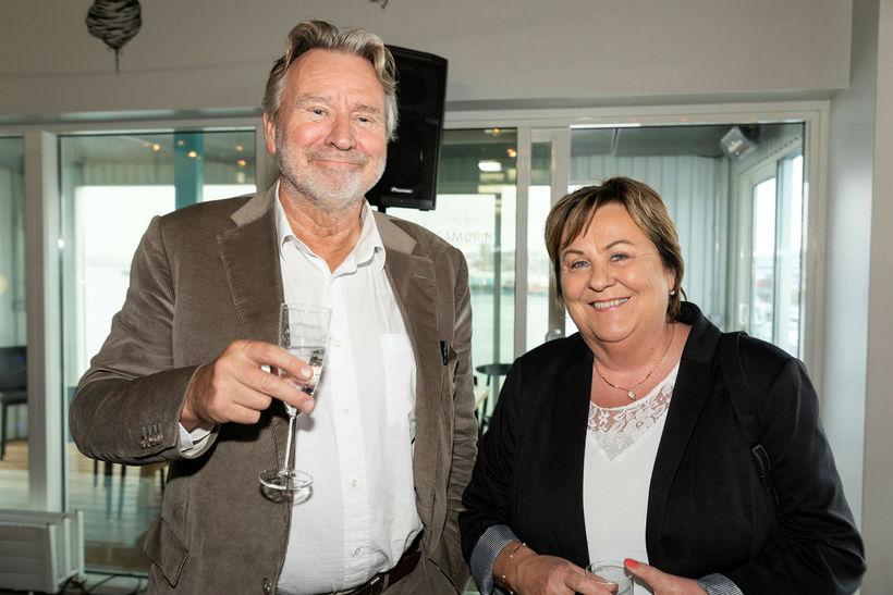 Magnús Kristinsson og Lóa Skarphéðinsdóttir.