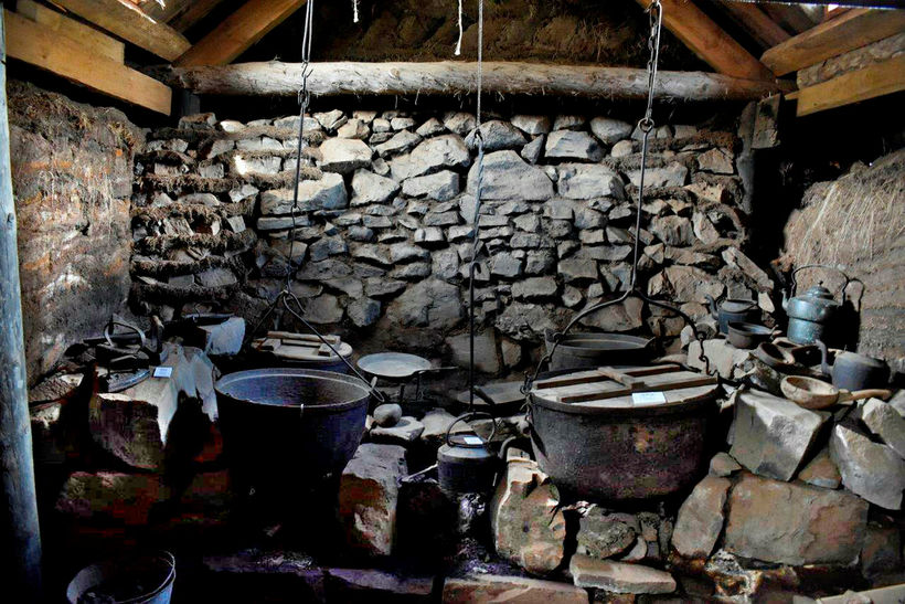 Agnes worked in a kitchen like this.