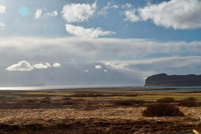 Skagafjörður showing off.