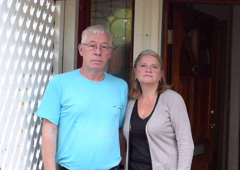 Kristinn Gestsson og Jóhönna Vilhjálmsdóttir, styrktarforeldar Shwetu í Nepal