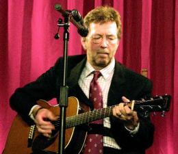Clapton er einn af þekktustu tónlistarmönnum í heimi.