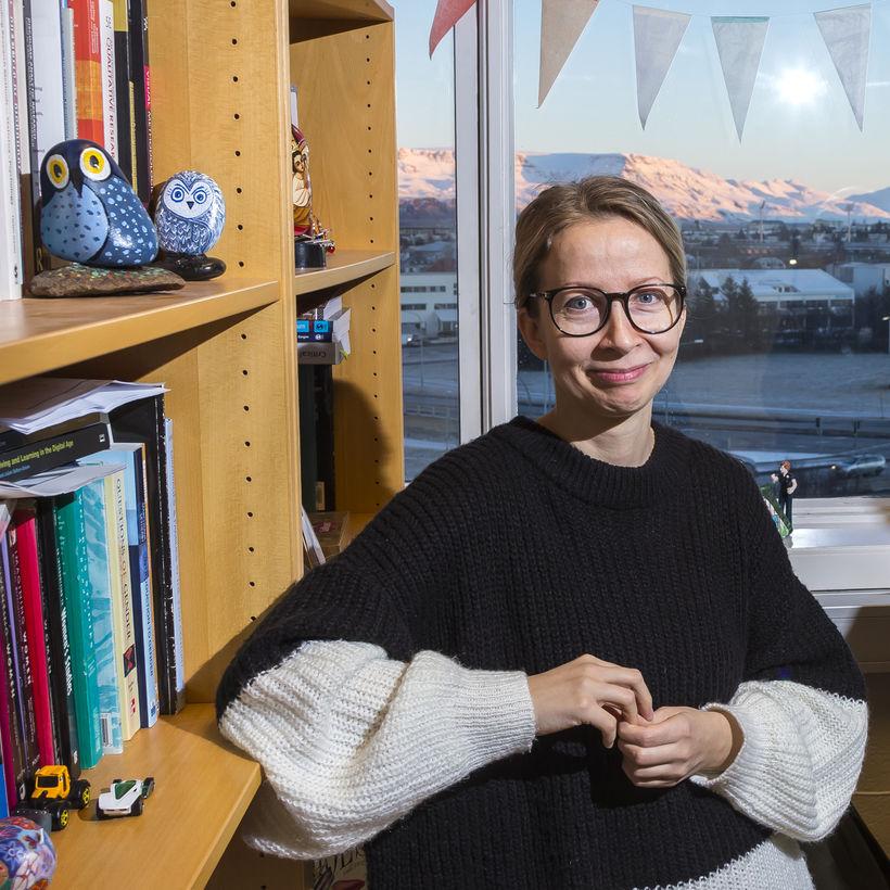 Ásta Jóhannsdóttir , sociologist.