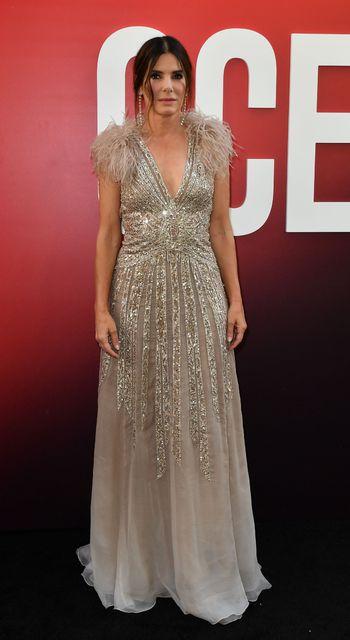Leikkonan Sandra Bullock.
