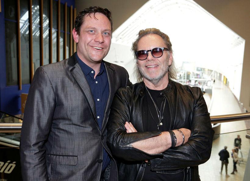 Gísli Berg og Björn Emilsson.