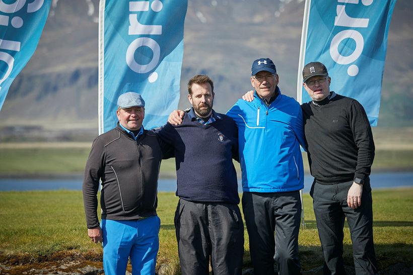 Þorlákur Ásbjörnsson, Kristófer Einarsson, Ólafur Sigurðsson og Ragnar Egilsson.