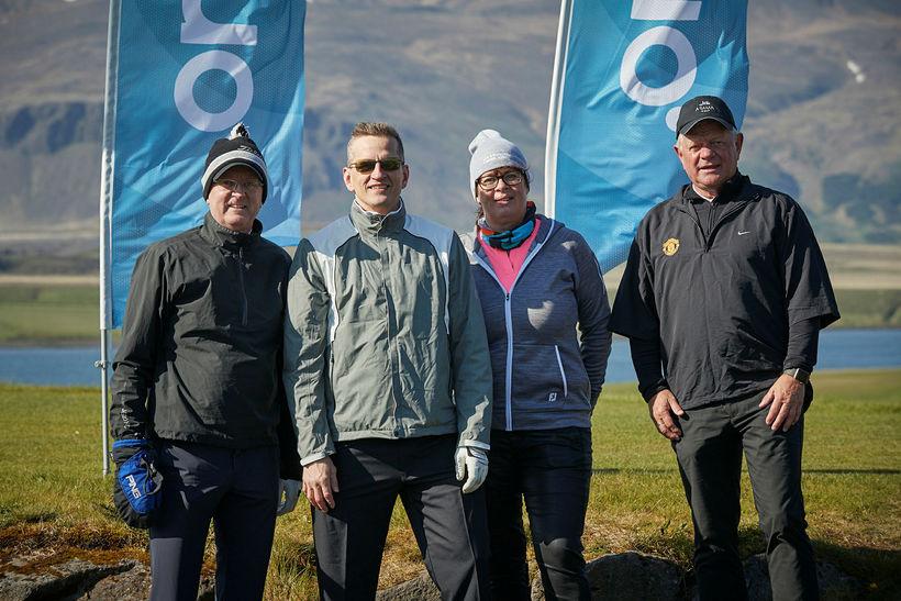Kjartan Flosason, Bjarni Kærnested, Elísabet Halldórsdóttir og Steinþór Steinþórsson.