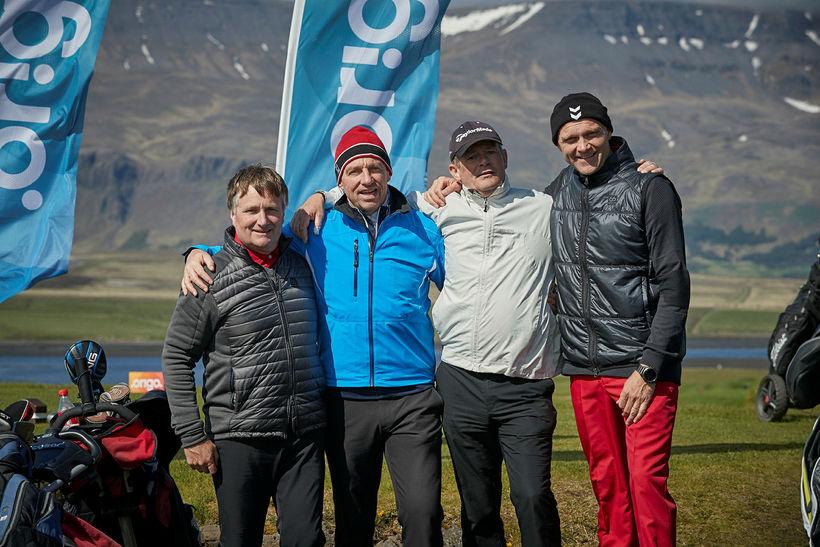 Gunnar Lúðvíksson, Guðmundur Torfason, Bergsveinn Þórarinsson og Guðbjartur Haraldsson.