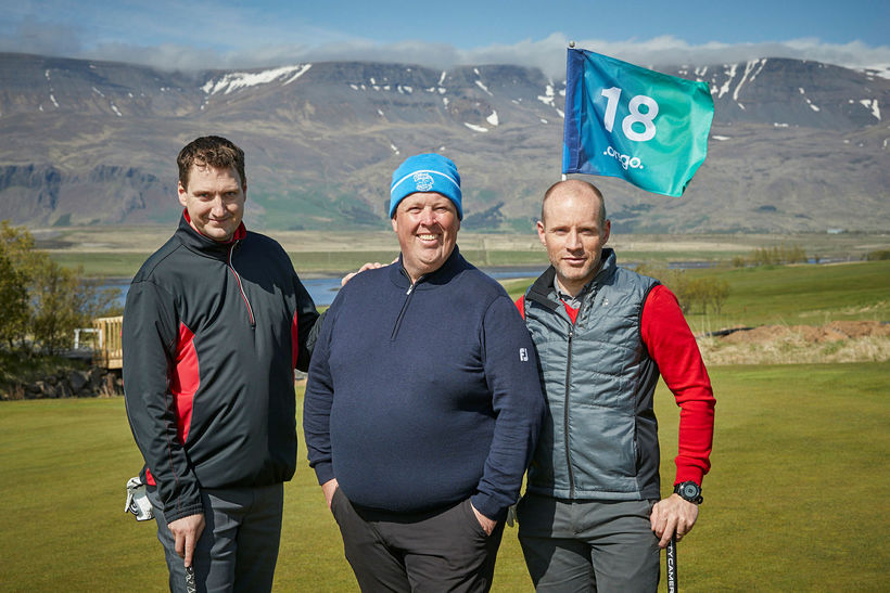 Guðmundur Rúnarsson, Eggert Kristófersson og Finnur Oddsson.