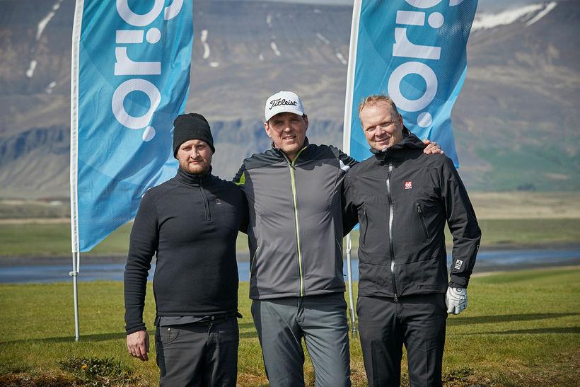 Björgólfur Guðbjörnsson, Þráinn Vigfússon og Sigþór Skúlason.